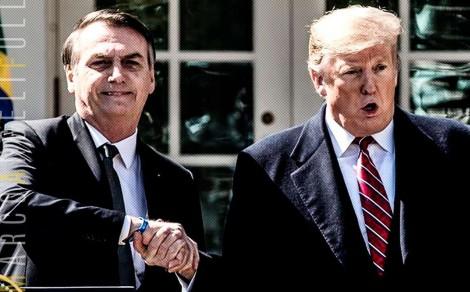 "Trump anuncia ajuda de 60 bilhões de dólares ao Brasil, para desespero dos ""conspiradores"""