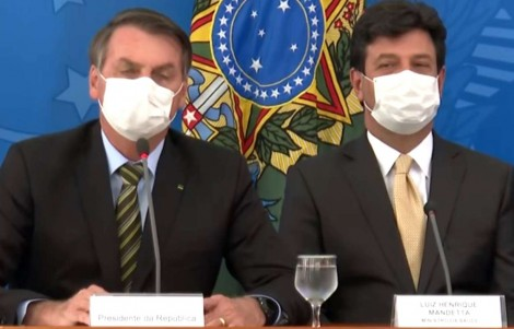 Brasil já está fornecendo a Cloroquina, que mostrou resultados promissores contra casos graves do Covid-19