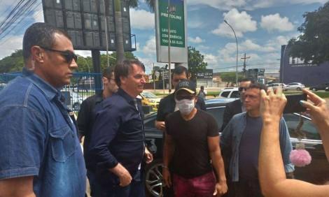 AO VIVO: Bolsonaro em açougue do Distrito Federal fala sobre Cloroquina e isolamento (veja o vídeo)