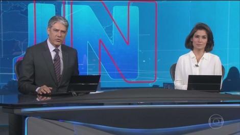 Jornal Nacional, um jornal inteiramente dedicado ao atual presidente
