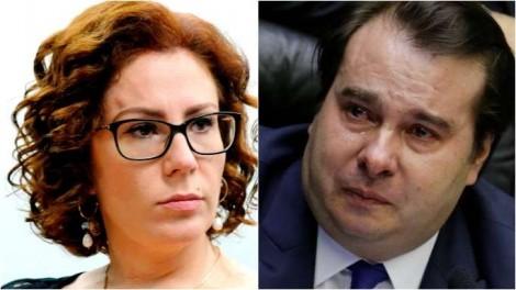 Zambelli desmoraliza Maia e, com números, demonstra a insignificância do presidente da Câmara (veja o vídeo)
