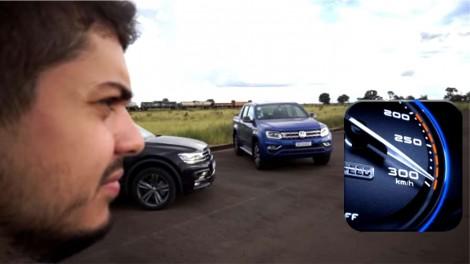 Youtuber que registra suas imprudências em rodovias com velocidade superior a 300 Km/h é denunciado ao MPF (veja o vídeo)