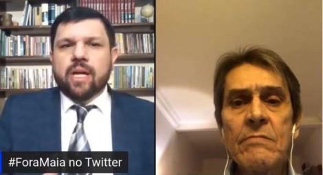 Roberto Jefferson revela golpe arquitetado por Maia contra o presidente Jair Bolsonaro