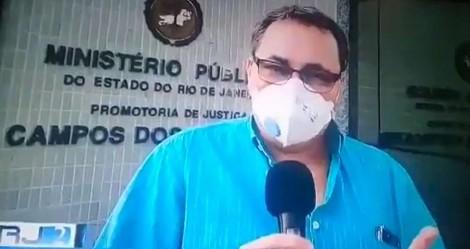 """Na Globo, promotor defende que """"opinião sobre isolamento"""" deve ser critério na hora de receber atendimento médico (veja o vídeo)"""