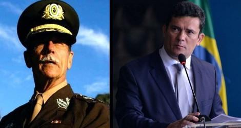 """General adverte: """"Sai Sérgio Moro, o Brasil é o grande prejudicado, infelizmente!"""""""