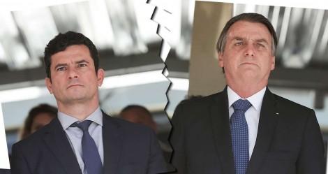 """O """"divórcio"""" de Bolsonaro e Moro: Houve adultério?"""