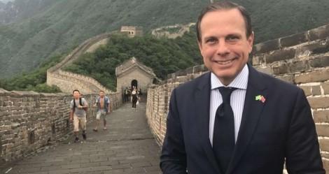 Quem diria, em 2019 João Doria já revelava sua admiração e os seus negócios com a China (veja o vídeo)