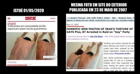 FLAGRANTE: IstoÉ é desmascarada usando foto FALSA para ilustrar matéria sobre o Coronavírus
