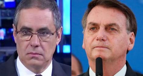 """Após Bolsonaro mostrar exame, Pannunzio dá chilique e confessa: """"Ficou todo mundo com cara de bobo"""""""