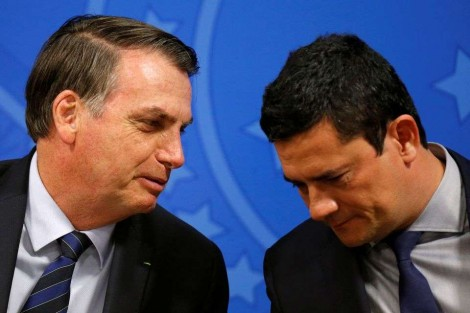 Bolsonaro divulga mensagem de WhatsApp e desmoraliza narrativa de Moro