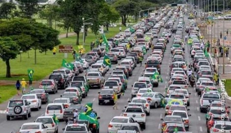 Ao vivo: MEGA CARREATA de Brasília tem público recorde (veja o vídeo)