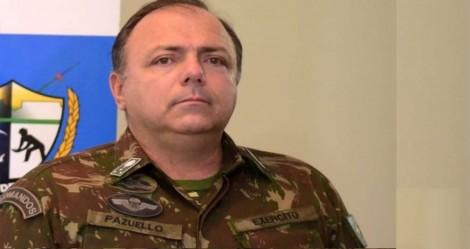 Para ajudar no combate a pandemia, General Pazuello conta com quase 20 militares na Saúde