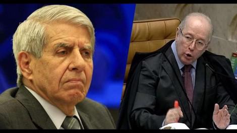 Confronto à vista: Celso de Mello é o relator do pedido de impeachment do General Augusto Heleno