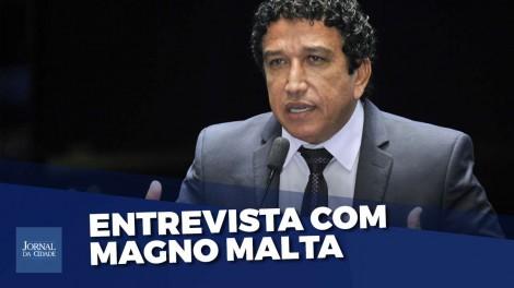 'O que esses governadores roubaram foi sua dignidade', dispara Magno Malta (Veja o vídeo)