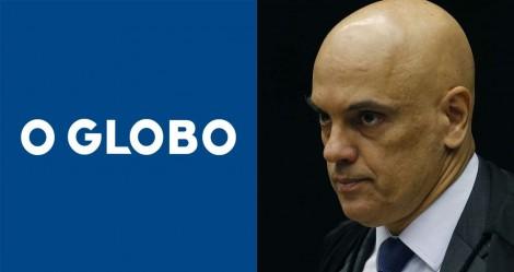 O editorial de O Globo e a defesa da censura imposta pelo STF