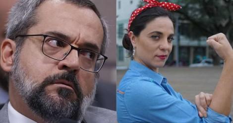 """Bizarro: Deputada do PSOL entra na Justiça para ser """"desbloqueada"""" por Weintraub no Twitter"""