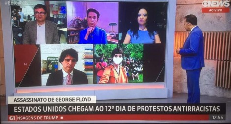 Ziriguidum do coronavírus na GloboNews