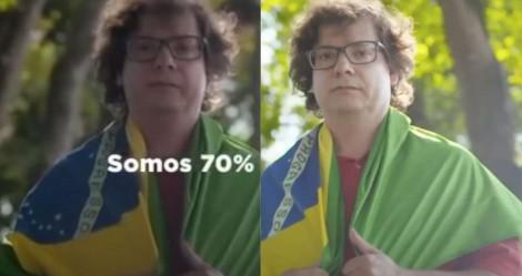 Movimento em apoio a baderneiros usa imagens de campanha do PT (veja o vídeo)