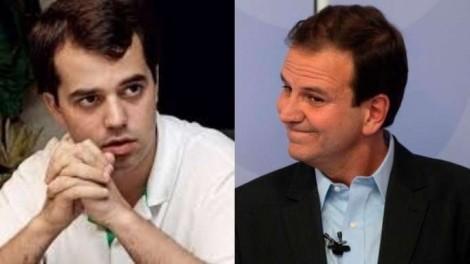 """Filho de Cabral abre o jogo e revela como Eduardo Paes tratava o pai: """"chefe"""" (veja o vídeo)"""