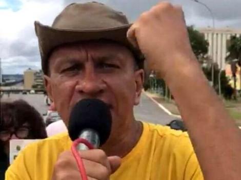 O relato preocupante do que aconteceu com um manifestante em Brasília (veja o vídeo)
