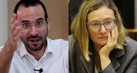 Arthur Weintraub anuncia ajuizamento de ações cível e criminal contra Maria do Rosário