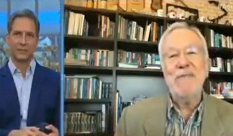 """Em um dos últimos programas com Lacombe, Alexandre Garcia dá aula sobre o """"gigantismo conservador"""" (veja o vídeo)"""