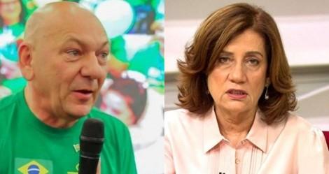 """Miriam Leitão perde ação contra Hang e terá que """"por mão no bolso"""""""