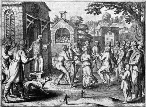 A histeria coletiva, a peste da dança de 1518 e a peste chinesa de 2020