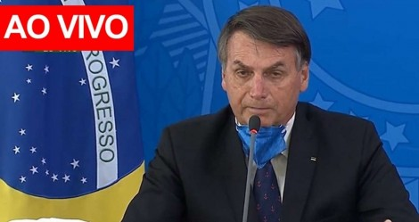 AO VIVO: Bolsonaro anuncia positivo para a Covid-19 (acompanhe)