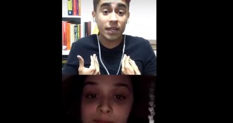"""Nikolas Ferreira faz feminista passar vergonha e é """"censurado"""" nas redes (veja o vídeo)"""
