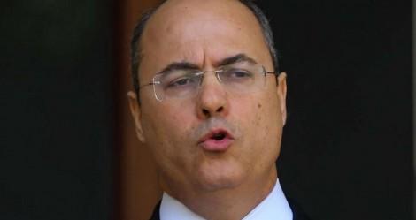 'Nervoso', Witzel comenta sobre delação de ex-secretário (veja o vídeo)