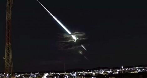 Viralizou: Enorme meteoro é visto no céu do Nordeste (veja o vídeo)
