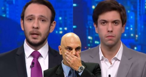 """Inacreditável: Em """"O Grande Debate"""" da CNN, nenhum dos debatedores se arvorou a defender Moraes (veja o vídeo)"""