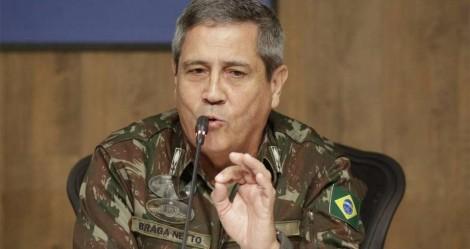 General Braga Netto está com Covid-19