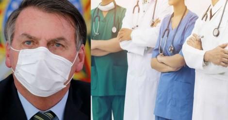 Bolsonaro vetou ajuda aos profissionais da saúde? Entenda toda a verdade! (veja o vídeo)