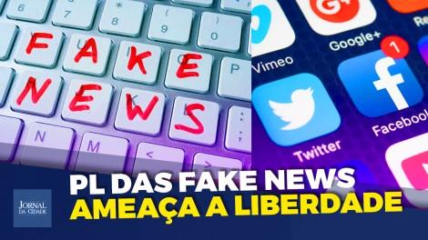 """Assustador: """"Se o 'PL das Fake News' for aprovado, as conversas em aplicativos poderão ser rastreadas"""" (veja o vídeo)"""