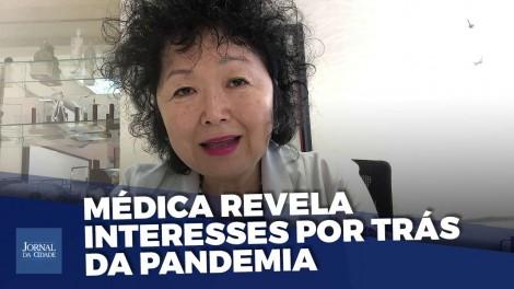 """Médica Nise Yamaguchi dispara: """"Pandemia é marcada por jogos políticos e interesses econômicos"""" (veja o vídeo)"""