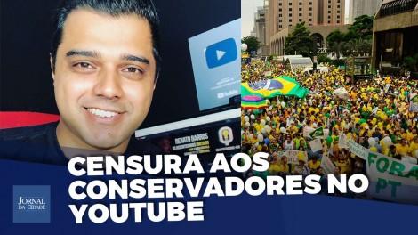 A ditadura do politicamente correto quer calar a voz do povo, alerta youtuber censurado (veja o vídeo)