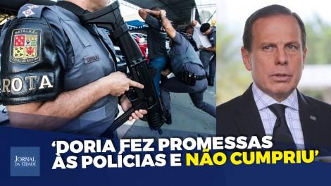 Marketeiro, Doria fez promessa às polícias de SP e não cumpriu, detona deputado ex-comandante da Rota (Veja o vídeo)