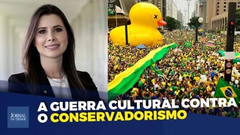 """Caroline De Toni: """"Nós, conservadores, somos a maioria silenciosa que agora tem voz"""" (veja o vídeo)"""