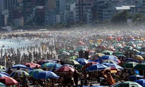 O inacreditável domingo em Ipanema, no Rio