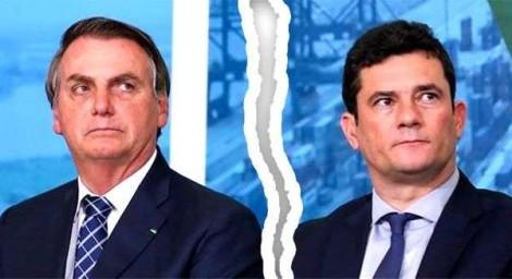 Antes da fatídica reunião ministerial, Bolsonaro já havia dado dura reprimenda em Moro, revela relatório da PF