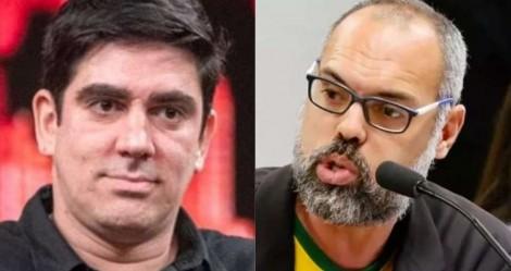 Adnet ataca Allan dos Santos e toma invertida do jornalista