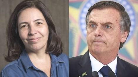 """Mônica Bergamo da Folha sugere """"golpe"""" contra Bolsonaro"""