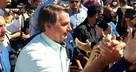 Após recepção calorosa no Ceará, é a vez da Paraíba demonstrar apoio ao presidente (veja o vídeo)