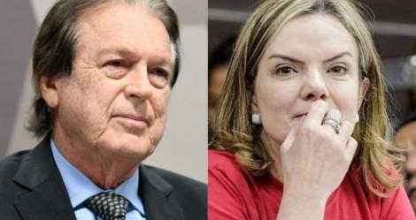 Quem diria, PSL de Luciano Bivar, e PT de Gleisi, juntos nas eleições...