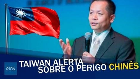 Embaixador de Taiwan alerta o mundo contra a China (veja o vídeo)