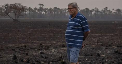 """Fogo atinge 6 mil hectares de fazenda, gera enorme prejuízo e dono faz alerta importante em defesa do """"fogo liberado"""" (veja o vídeo)"""