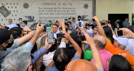 Na Paraíba, Bolsonaro é recebido de maneira apoteótica (veja o vídeo)