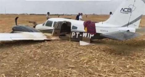 Cai avião que transportava coronel Fernanda, candidata de Bolsonaro no MT (veja o vídeo)